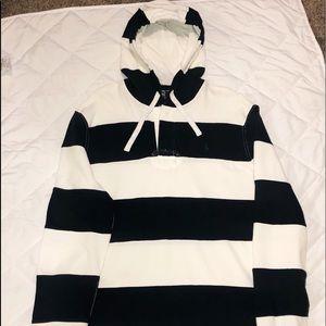 Ralph Lauren polo striped hoodie